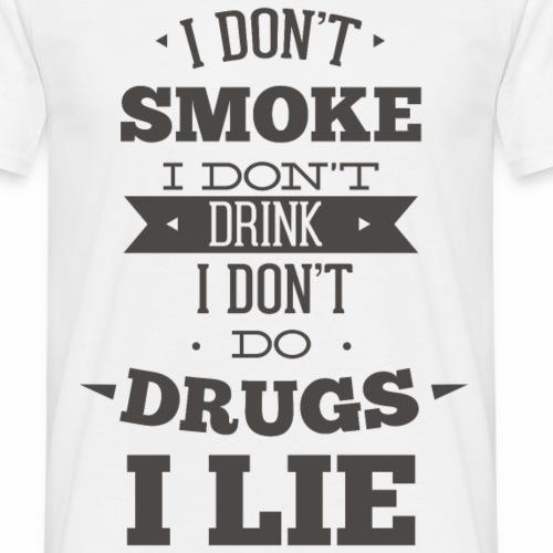 I LIE - Männer T-Shirt
