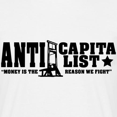Anticapitalist - Miesten t-paita