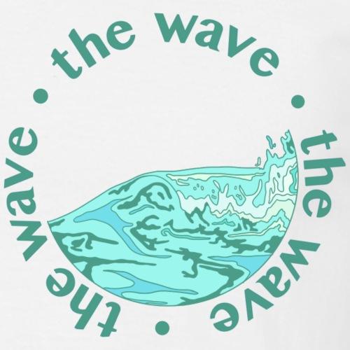 the wave - Männer T-Shirt