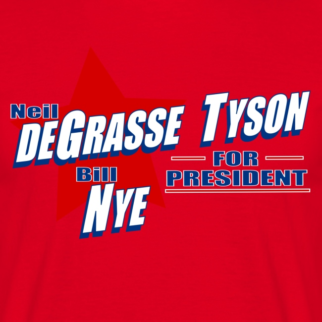 Neil deGrasse Tyson and Bill Nye for