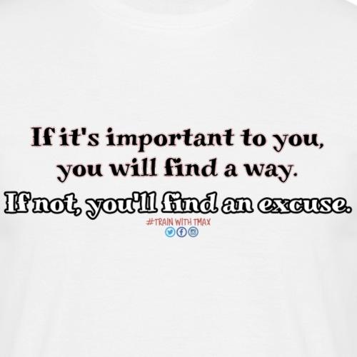Important - Camiseta hombre