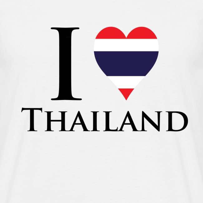 I Love Thailand Master W png