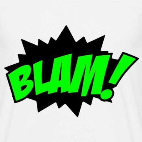 BLAM! Grün/Schwarz - Männer T-Shirt