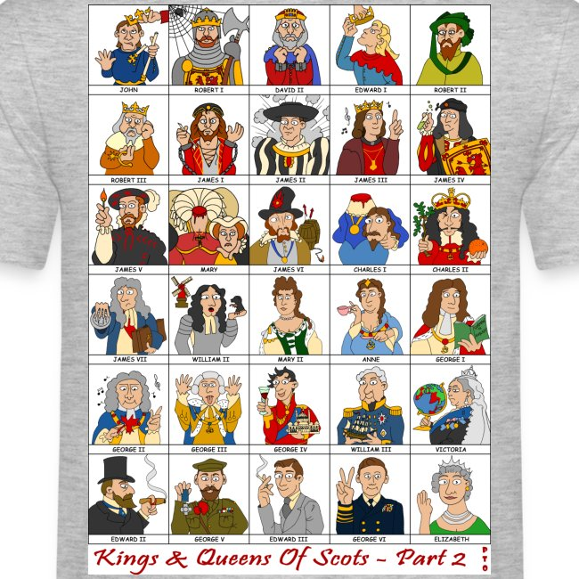 The Kings & Queens of Scotland (Double Sided)