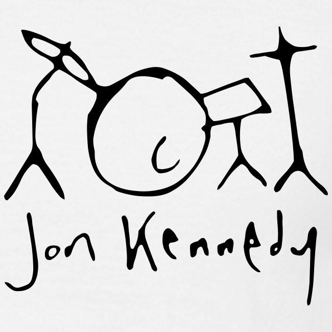 Jon Kennedy Drumkit Logo & Name