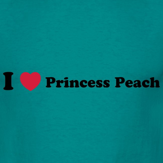 I love princess peach