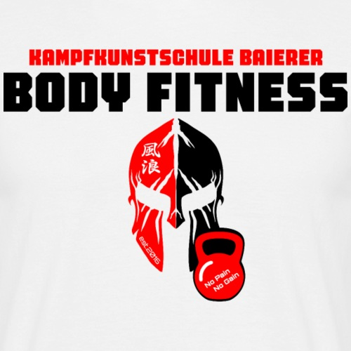 Body Fitness - Männer T-Shirt