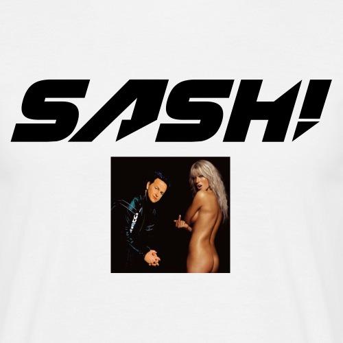 SASH! Filled Logo - Men's T-Shirt
