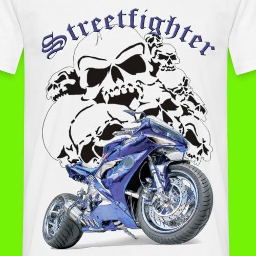 Streetfighter - Männer T-Shirt