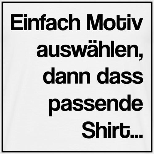 Verweis - Männer T-Shirt