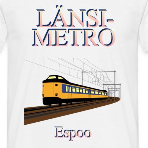 Lansimetro - Miesten t-paita