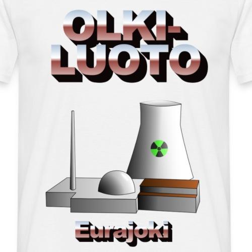 Eurajoki2 png - Miesten t-paita