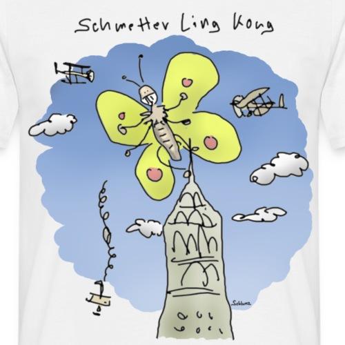 Schmetterlingkong - Männer T-Shirt