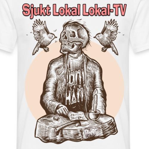 SLLTV vit - T-shirt herr