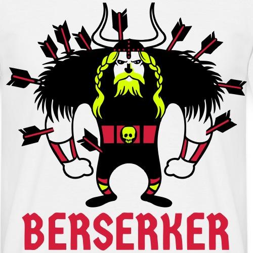 Berserker   Guerrero Nórdico   Vikingos - Camiseta hombre