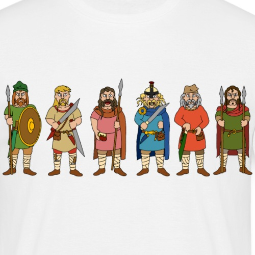 Early Anglo-Saxon Warriors