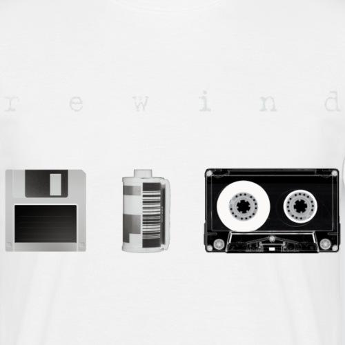 Rewind negative - Maglietta da uomo