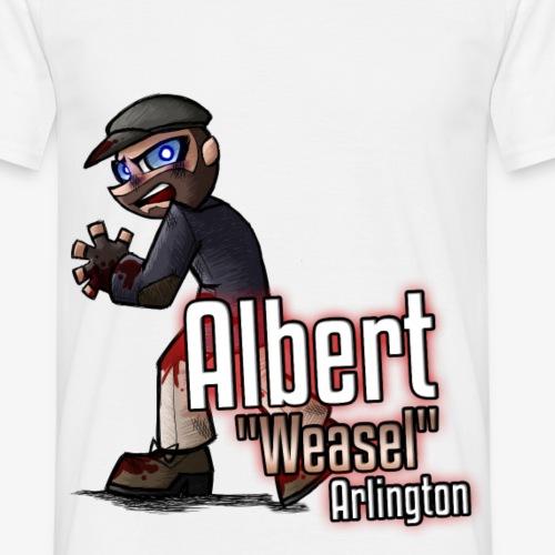 Albert Weasel Arlington - Men's T-Shirt