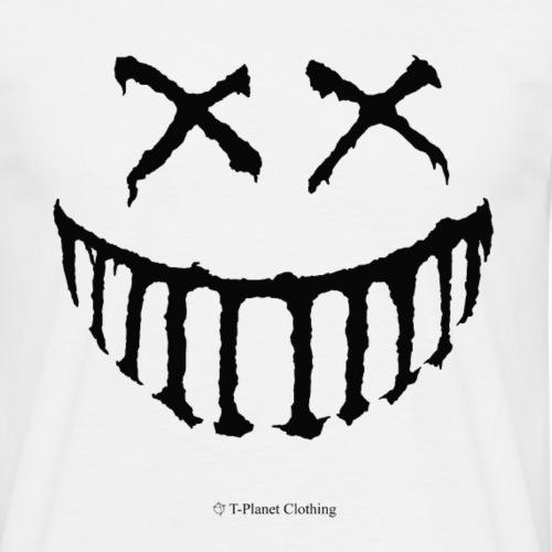 Creepy Smile Black - Maglietta da uomo