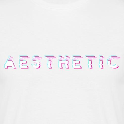 A E S T H E T I C - Mannen T-shirt