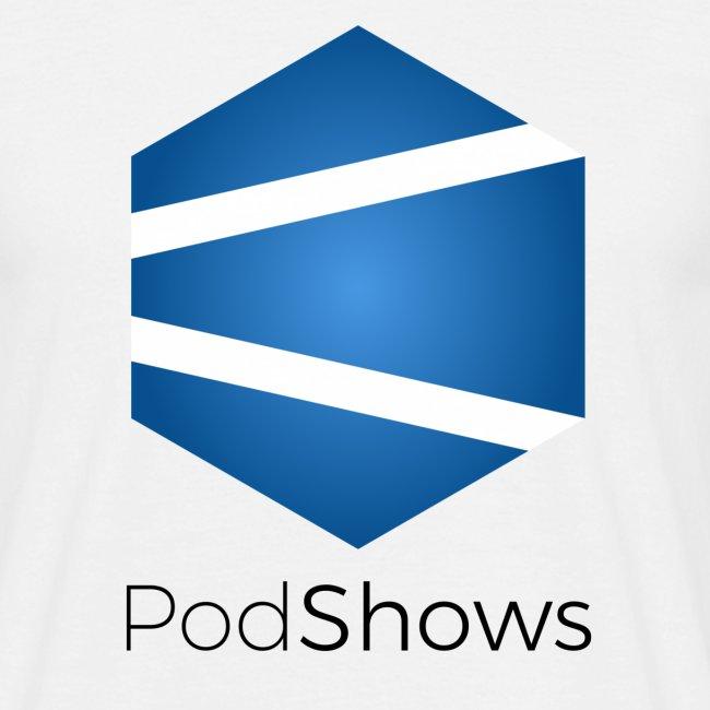 PodShows logo+texte