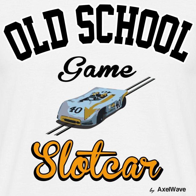 Olschool game Slotcar 1