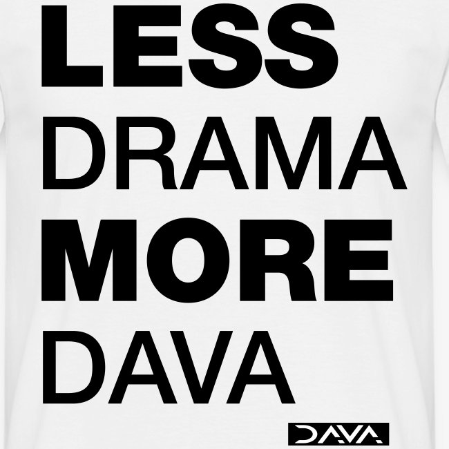 More DAVA - black