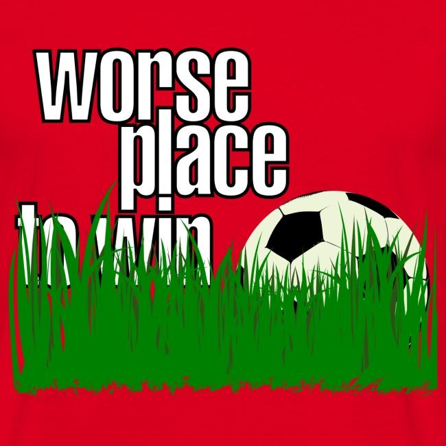 Piłka nożna - najgorsze miejsce do wygrania