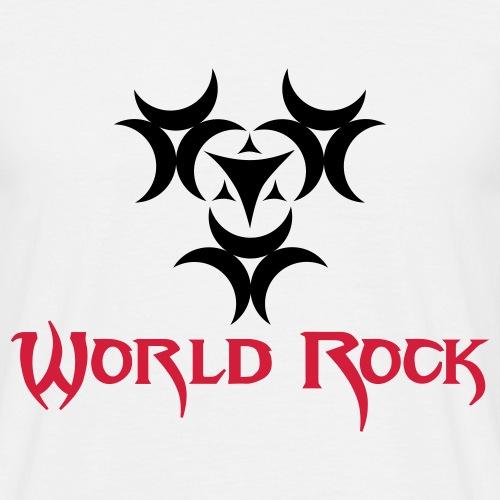 Motif World Rock - T-shirt Homme