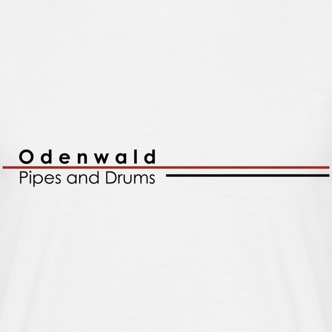 Odewald Pipes and Drums Logo weiß transparenter