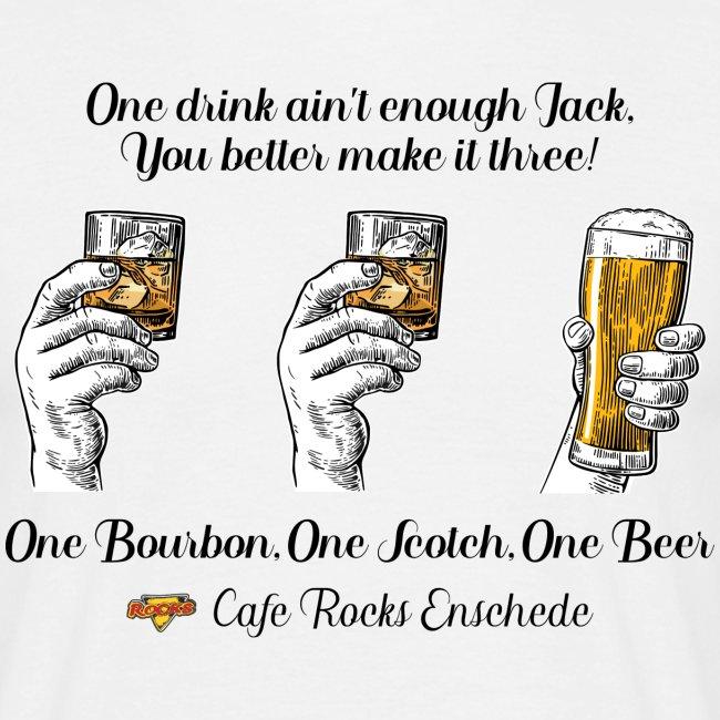 One Bourbon, One Scotch,