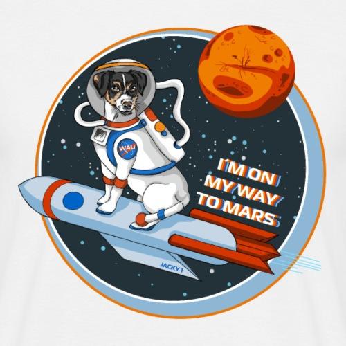 Astrodog - Männer T-Shirt