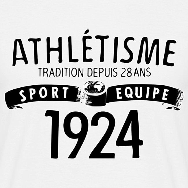 Urheilu Equipe 1924 (musta)