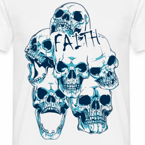 Faith - Männer T-Shirt