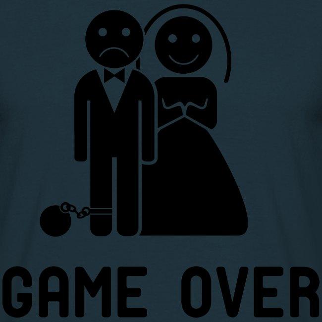 Vrijgezellenfeest game over!