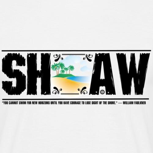 SHAW - Herre-T-shirt
