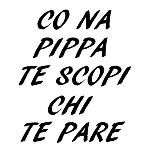 co na pippa italia frasi roma ironia divertente - Maglietta da uomo