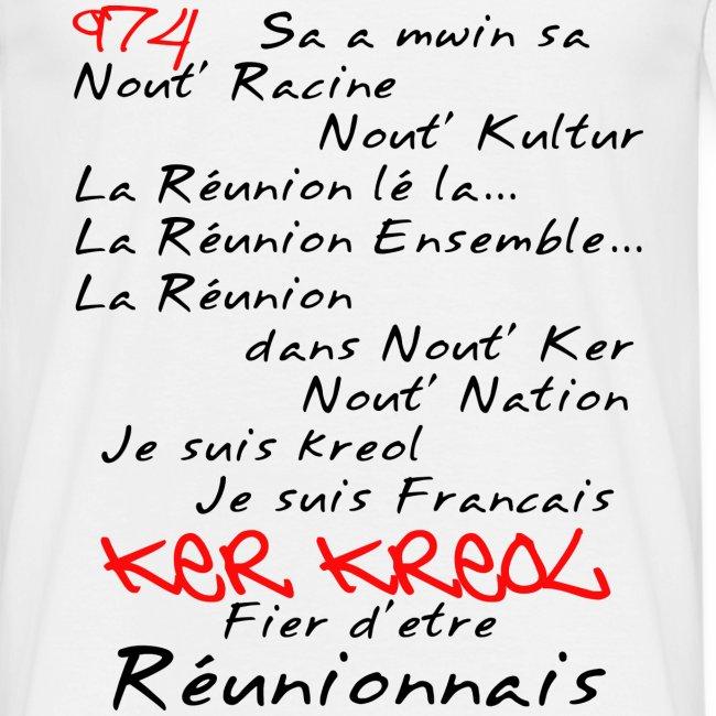 Kosement kreol - 974 Ker Kreol - Réunionnais