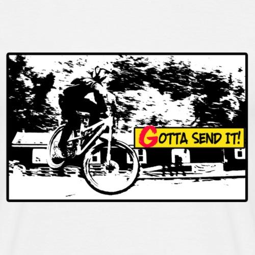 Venner Gotta send it - Herre-T-shirt