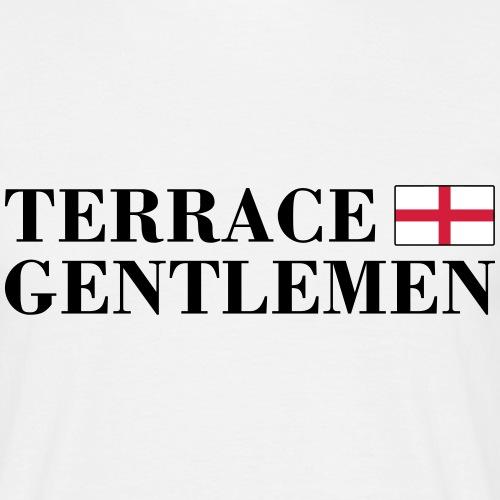 TERRACE GENTLEMEN (schwarze Schrift) - Männer T-Shirt