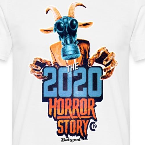 Batzer 2020 Horror - Mannen T-shirt