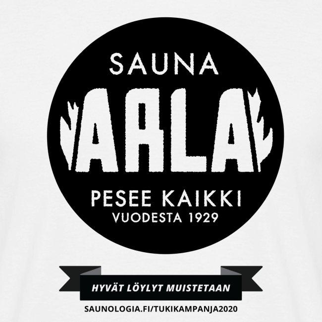 Sauna Arla - Valkoinen