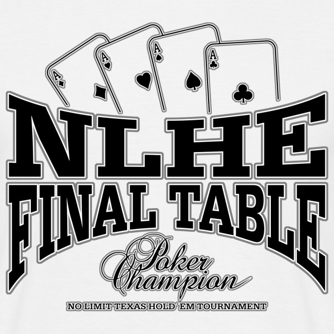 NLHE Final Table (czarny)