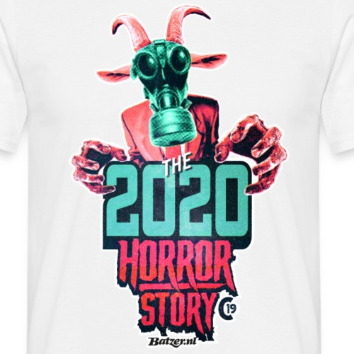Batzer Corona Killer - Mannen T-shirt