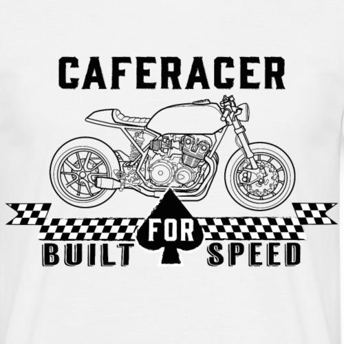 Caferacer - Built for speed - Men's T-Shirt