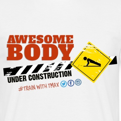 Body Under Construction - Camiseta hombre