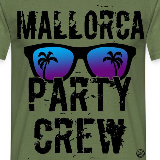 MALLE PARTY CREW Shirt - Mallorca Shirts 2019