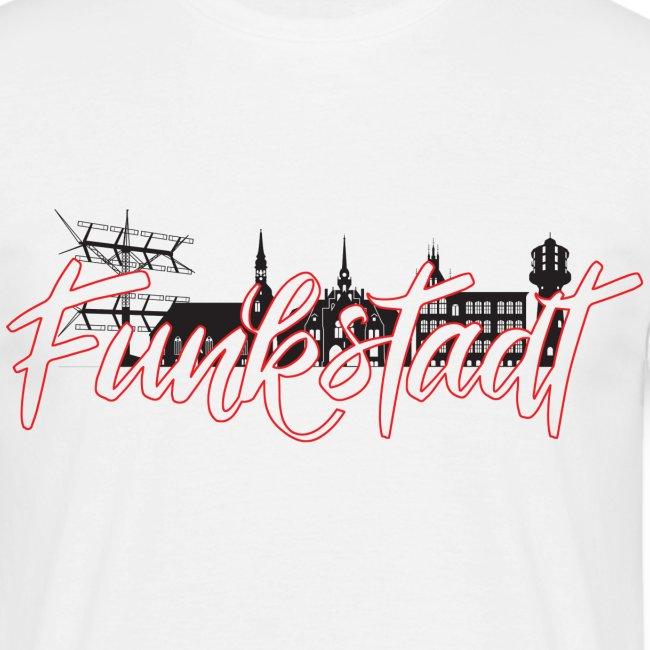 Funkstadt Shirt black / red
