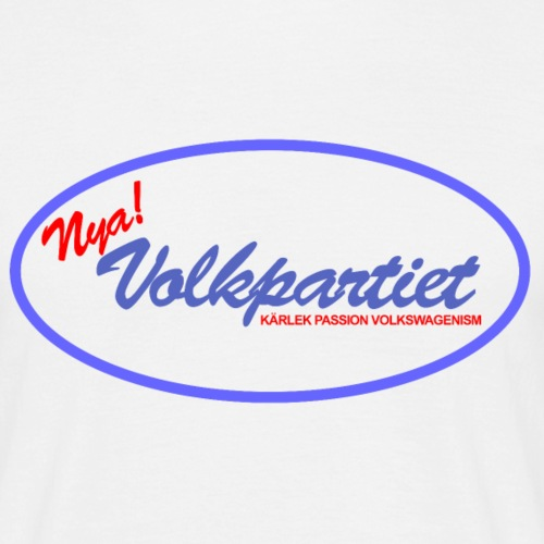 Nya Volkpartiet - T-shirt herr