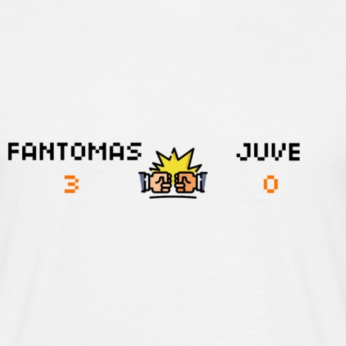 Fantomas vs Juve - T-shirt Homme